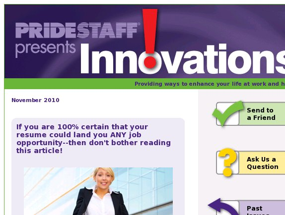 Innovations: Will your resume land you an interview?