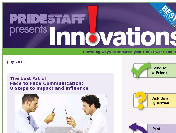 Innovations: 8 Steps to Impact and Influence